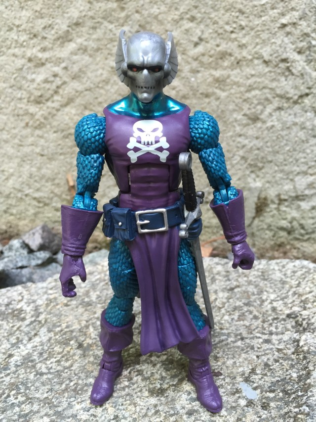"Front of Marvel Legends 6"" Dreadknight Figure"