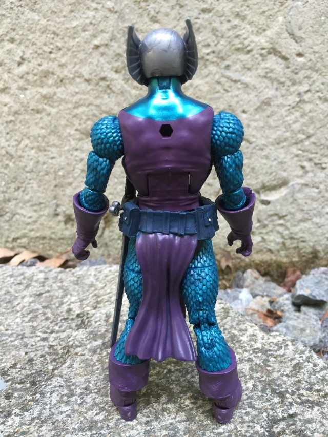 SDCC Marvel Legends Raft Dreadknight Back