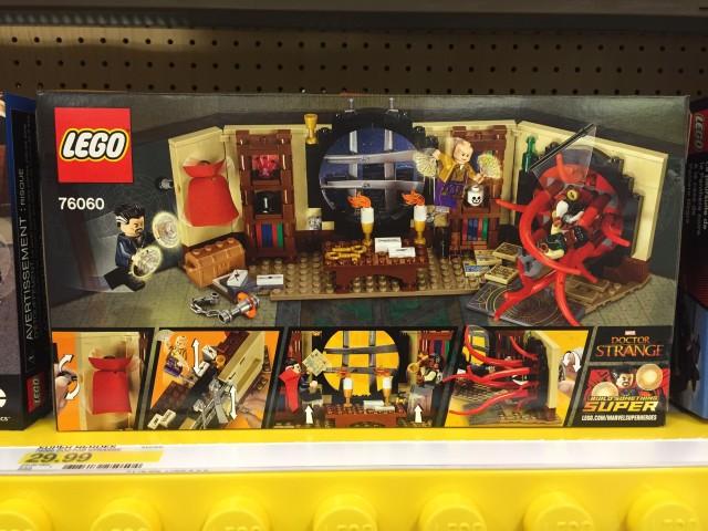 LEGO Doctor Strange's Sanctum Sanctorum 76060 Box Back