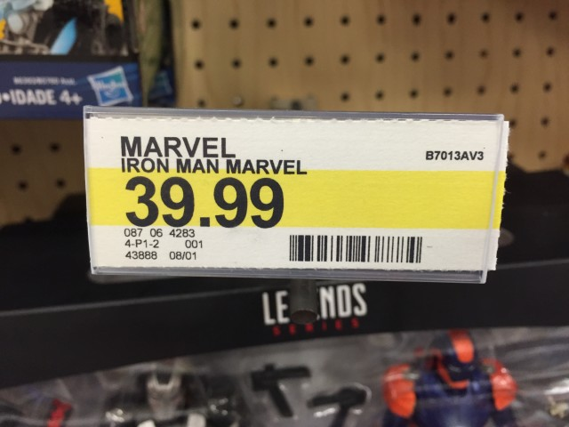 Target Marvel Legends Two-Pack Price Tag $39.99