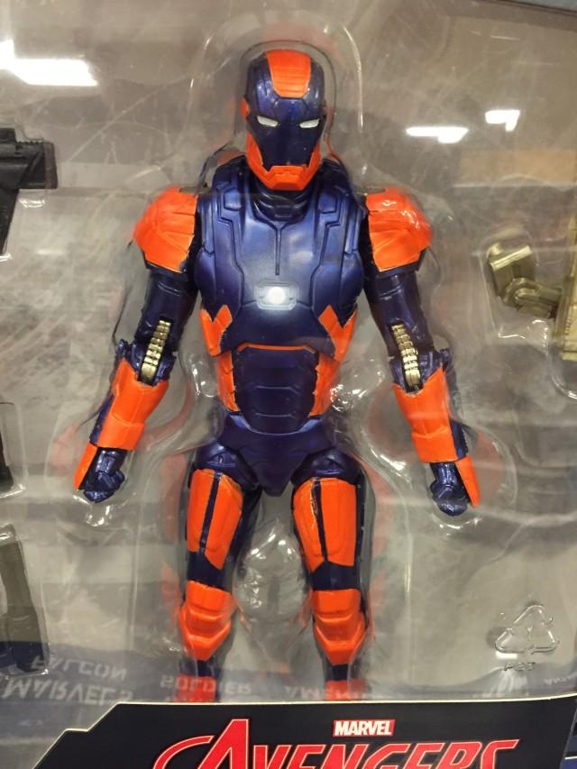 "Marvel Legends Disco Iron Man 6"" Figure Close-Up"