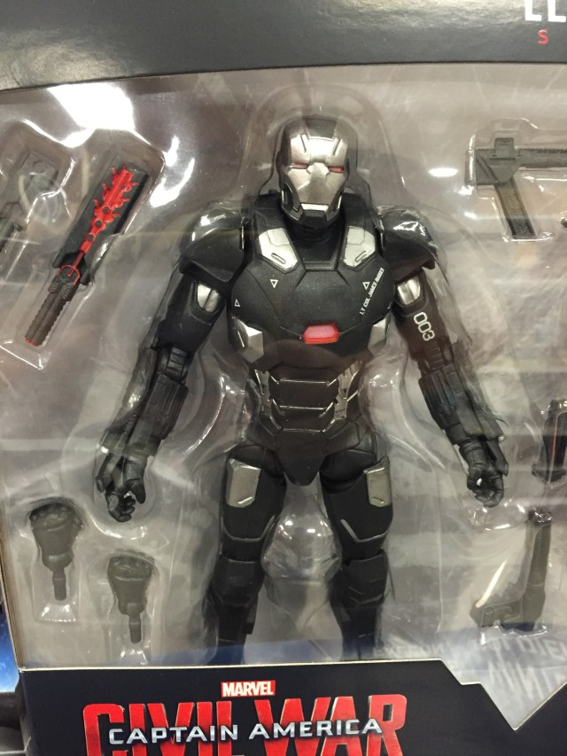 Marvel Legends Civil War War Machine Mark III Figure Packaged