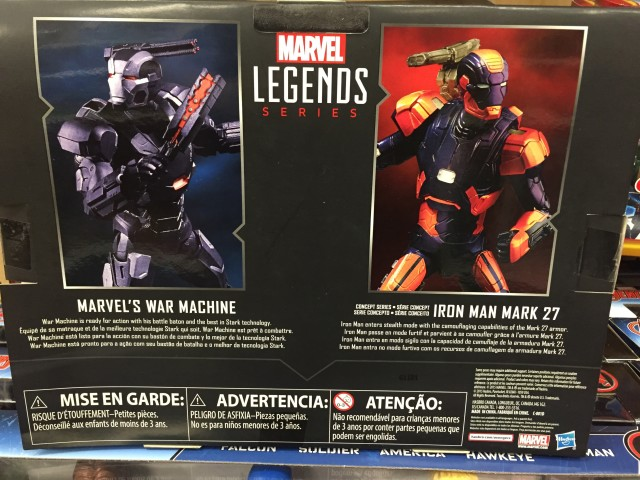 Box Back Target Civil War Marvel Legends 2-Pack
