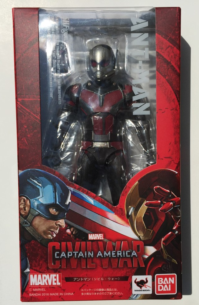 SH Figuarts Ant-Man Figure Box