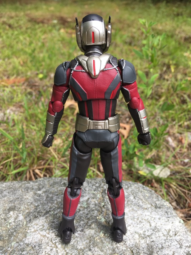 Back of SH Figuarts Ant-Man Figure