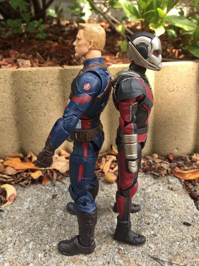Scale Comparison Civil War Marvel Legends and SH Figuarts