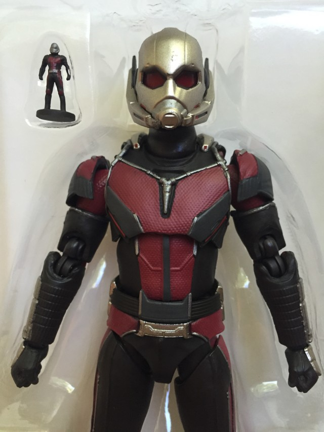 Close-Up of S.H. Figuarts Captain America Civil War Ant-Man Paint Flaws