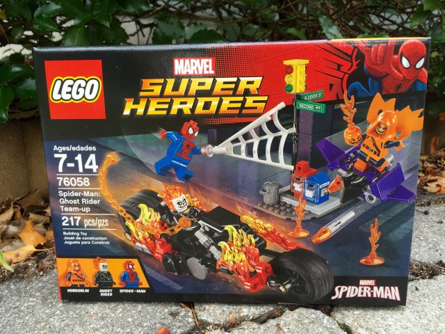 LEGO Marvel Ghost Rider Team Up Set Box Review