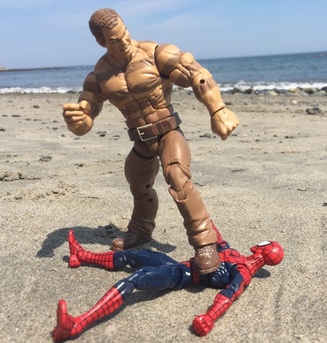 Marvel Legends The Raft Sandman Figure Kills Spider-Man
