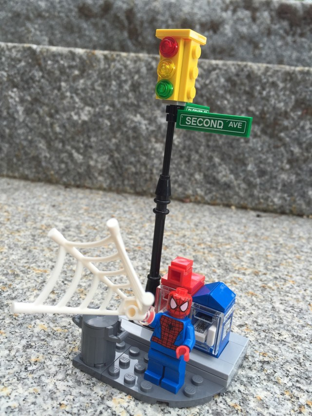 Spider-Man on Street Corner LEGO Ghost Rider 76058 Set