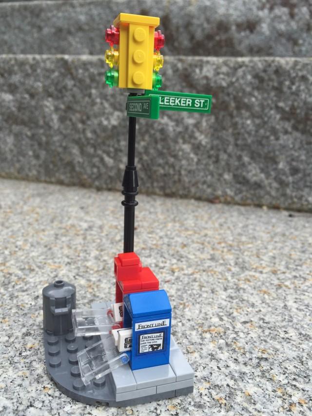 LEGO Marvel Ghost Rider Team-Up Street Corner