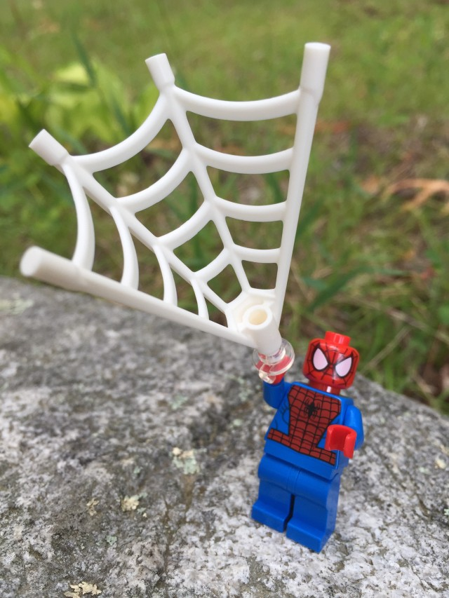 LEGO Spider-Man Minifigure Shooting Web Effects Piece
