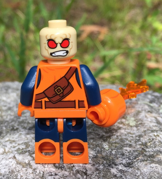 Back of LEGO Hobgoblin Figure