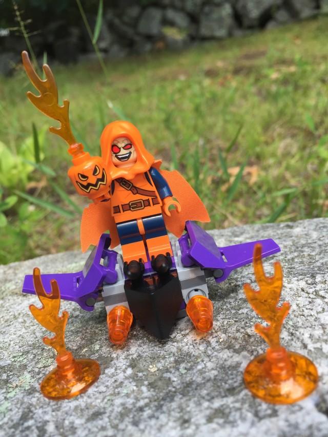 LEGO Marvel Hobgoblin Minifig and Accessories