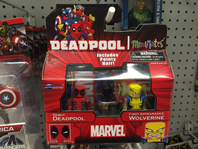 Toys R Us Minimates Debut Deadpool First Appearance Wolverine Figures