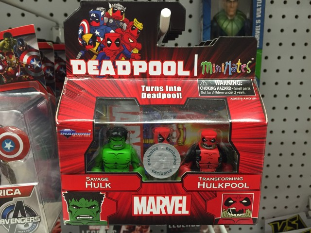 Marvel Minimates Hulkpool & Hulk Two-Pack