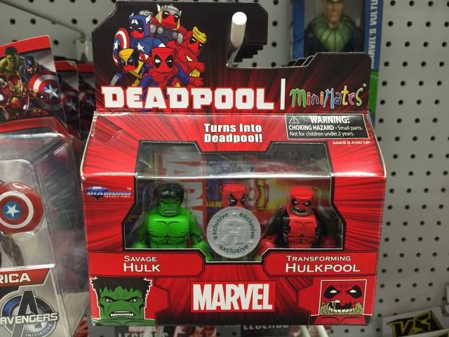 Marvel Minimates Hulkpool & Hulk Two-Pack