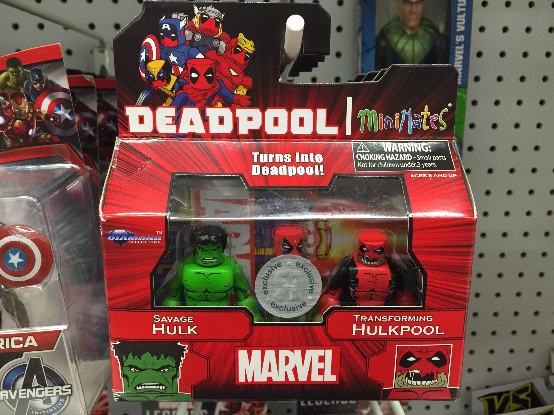 Marvel Toys R Us : Toys r us exclusive deadpool minimates released hulkpool