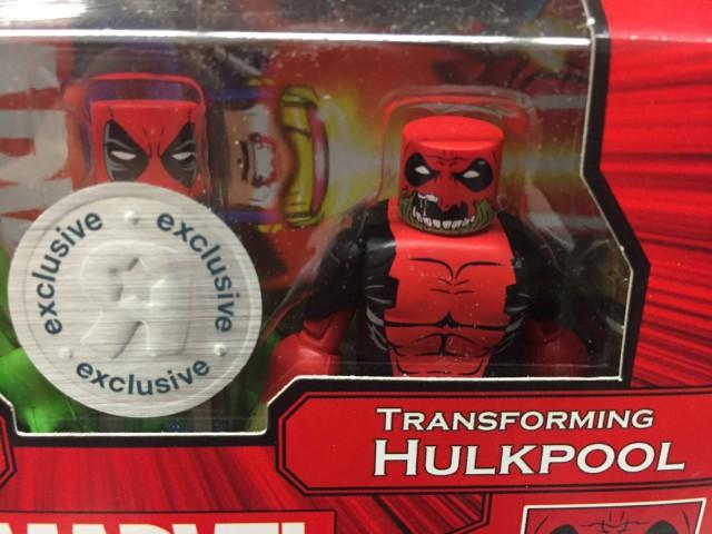Hulkpool Figures Marvel Minimates Close-Up