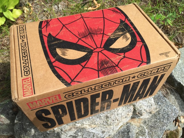Funko Marvel Collector Corps Spider-Man Box Review