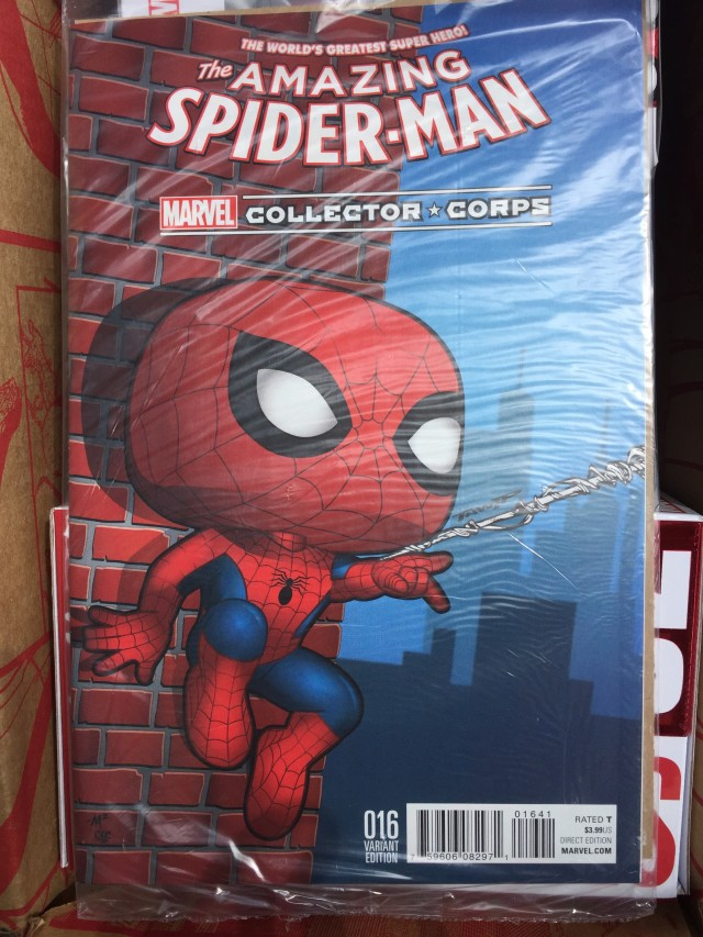 Funko Amazing Spider-Man 16 Variant Cover