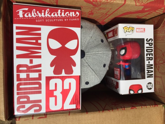 Spoilers Spider-Man Marvel Collector Corps Box