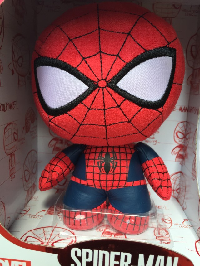 Close-Up of Exclusive Funko Fabrikations Spider-Man Toy