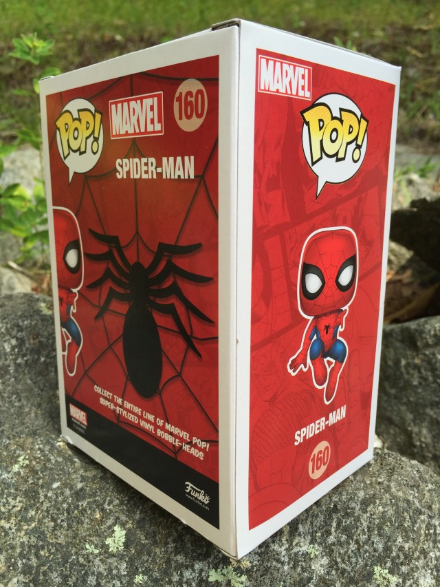 Exclusive Funko Spider-Man Collector Corps POP Vinyl #160