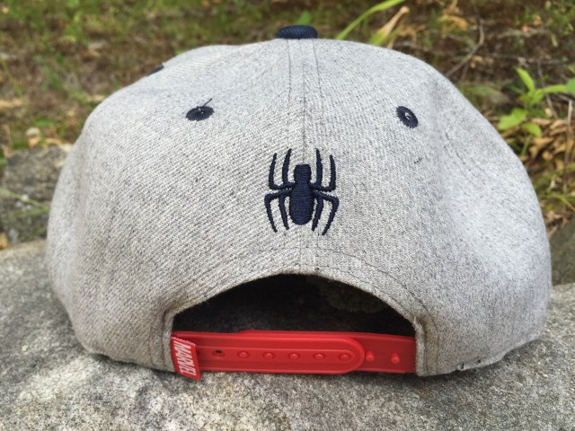 Back of Funko Spider-Man POP Tops Hat