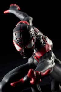 Kotobukiya Miles Morales ARTFX+ Statue Close-Up