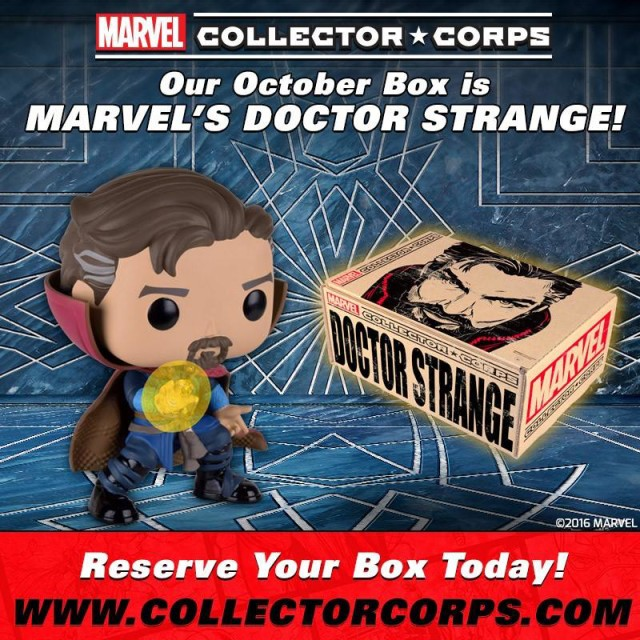 Marvel Collector Corps Doctor Strange Box