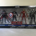 Exclusive Marvel Legends Civil War 4-Pack with Falcon!