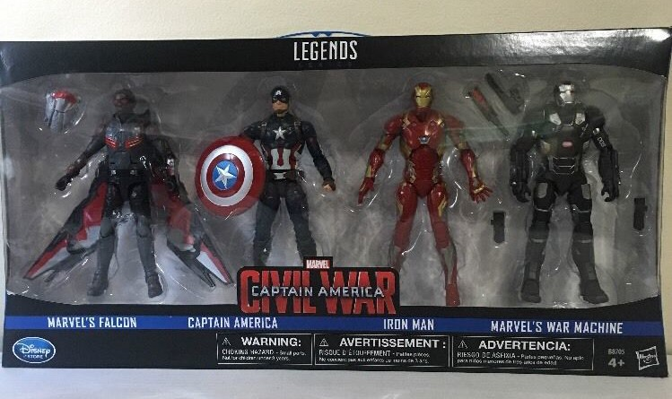Marvel Legends Falcon Captain America Civil War 3.75 figure