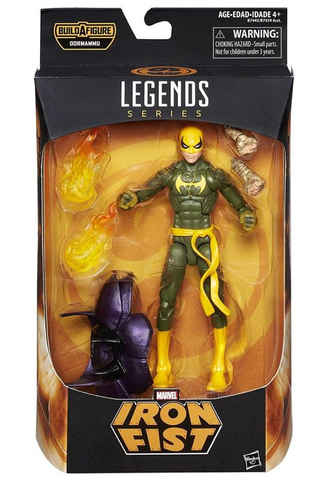 Marvel Legends Doctor Strange Iron Fist Figure Packaged