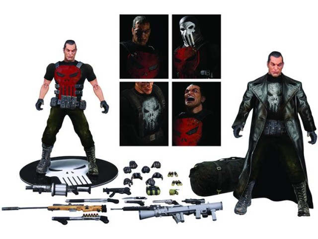 Mezco Deluxe Punisher One 12 Collective Figure Set