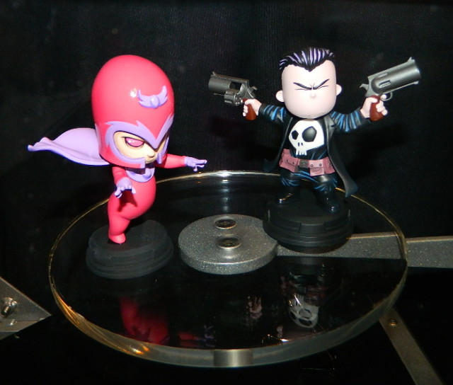 SDCC 2016 Skottie Young Statues Magneto and Punisher Gentle Giant Ltd