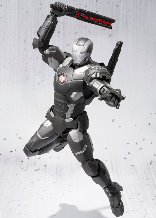 SH Figuarts War Machine Mark III Civil War Figure