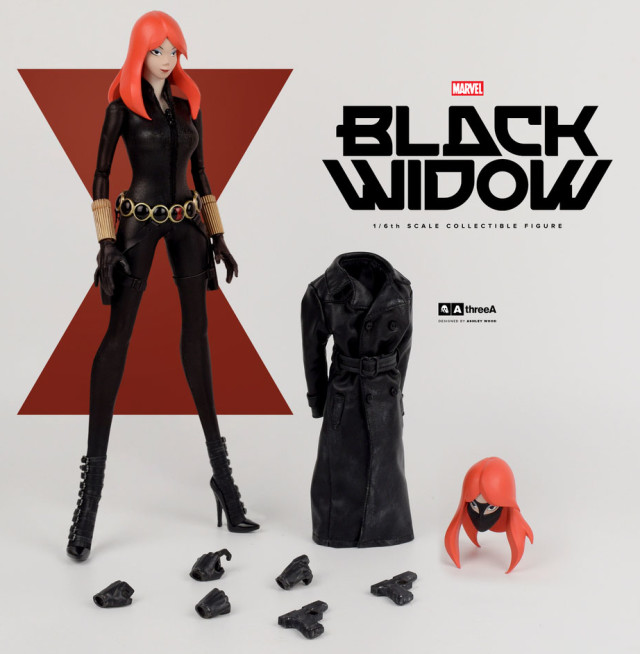 ThreeA Toys Black Widow Sixth Scale Figure and Accessories