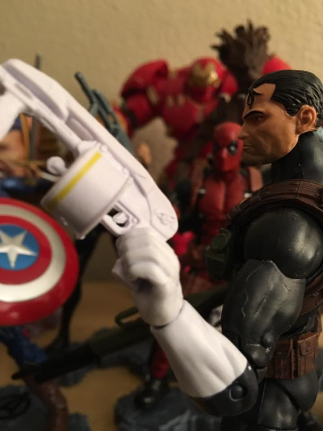 White Gun of Walgreens Exclusive Marvel Legends The Punisher Six Inch Figure