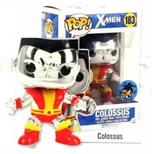 2016 Comikaze Exclusive X-Men Metallic Colossus #183 Funko Pop