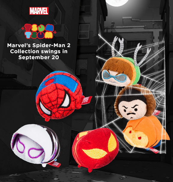 Disney Tsum Tsum Spider-Man Collection 2 Announcement Poster