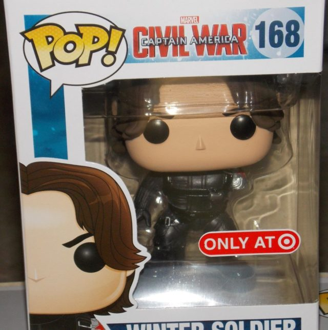 Funko Target Exclusive Winter Soldier Without Arm POP Vinyls Figure