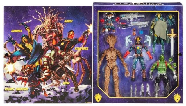 EE Exclusive Guardians of the Galaxy Box Set