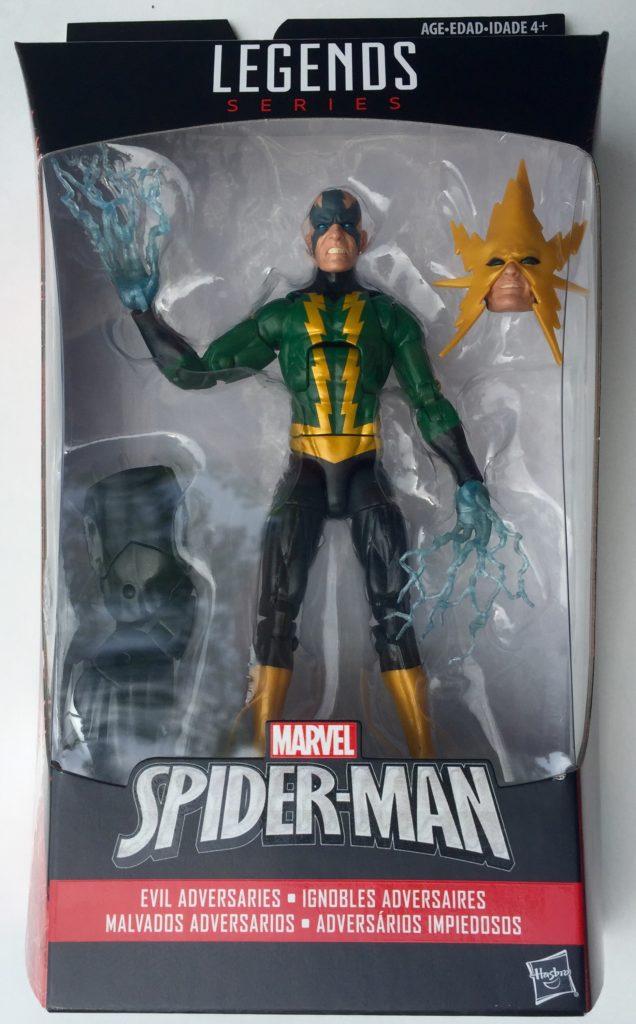 Packaged Spider-Man Marvel Legends Electro Figure 2016