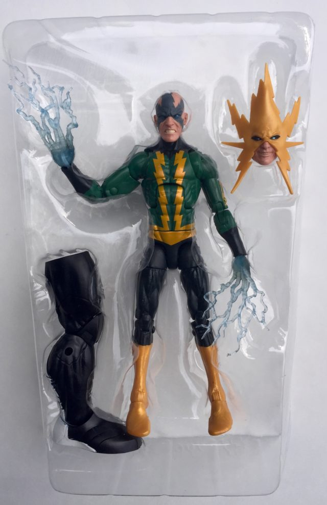Electro Marvel Legends Figure and Accessories
