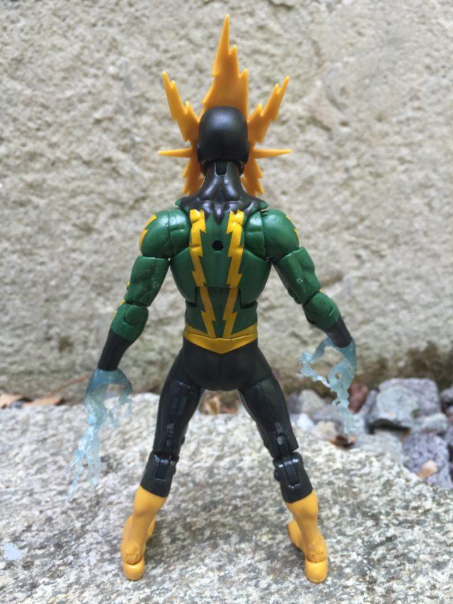 Back of Marvel Legends 2016 Electro Action Figure