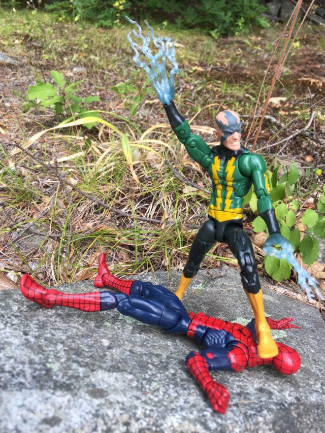 Marvel Legends Spider-Man Wave 2 Electro vs. Pizza Spidey