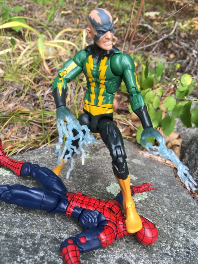 Electricity Hands on Marvel Legends Electro Six Inch Figure