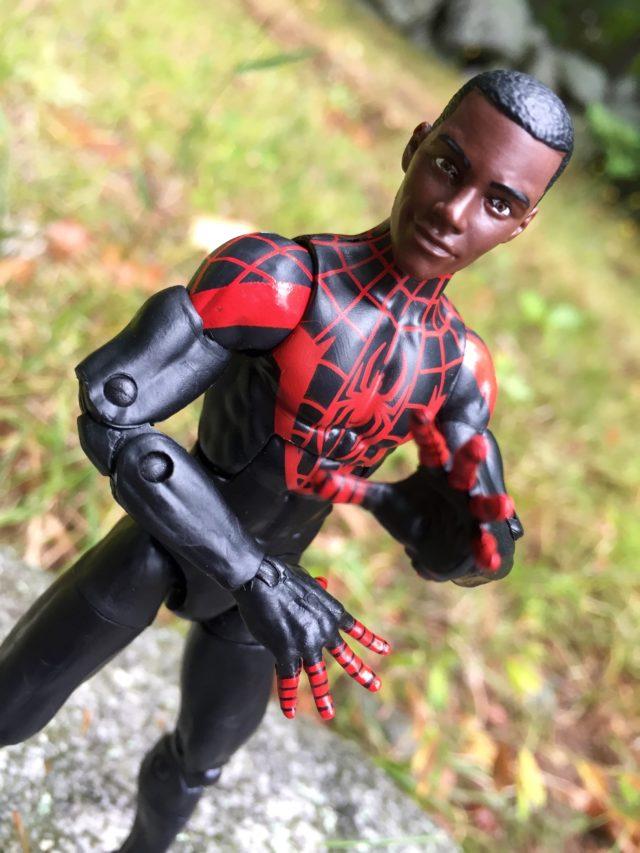 Marvel Legends Ultimate Spider-Man Miles Morales Unmasked Head