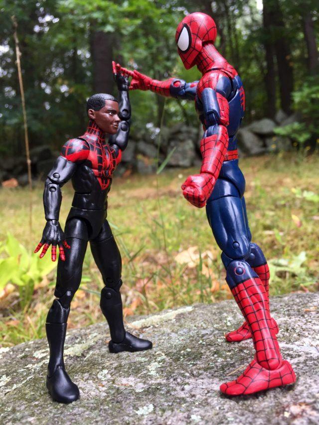 Size Comparison Marvel Legends Teen Boy Body Miles Morales Spider-Man